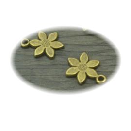 Bedel brons bloem