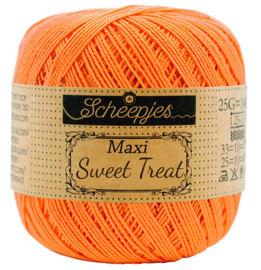 386 Peach - Maxi Sweet Treat 25 gram - Scheepjes