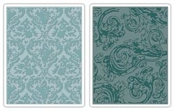 Damask/Regal Flourishes embossing folder - Tim Holtz * 656648