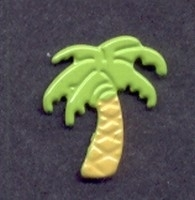 Brad palmboom lichtgroen