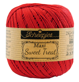 115 Hot red - Maxi Sweet Treat 25 gram - Scheepjes