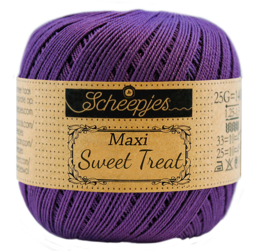 521 Deep violet - Maxi Sweet Treat 25 gram - Scheepjes