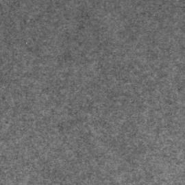 100% acryl vilt  - grijs M04 * 20x30 cm.