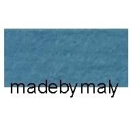 100% wolvilt, medium blauw * 20x30 cm.