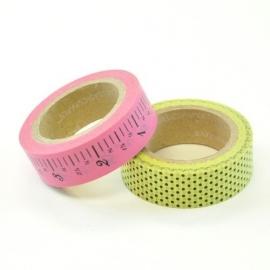 Vintage Market paper tape (2 rollen tape) - Bazzill Basics * 304136