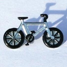 Brad fiets zilver/zwart
