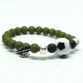 Voetbal armband, kies zelf je kleuren