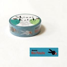 Masking tape Mon Peluche - Shinzi Katoh * MKT5077