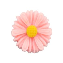 Madelief bloem kraal 13 mm roze