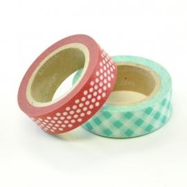Avalon paper tape (2 rollen tape) - Bazzill Basics * 304134