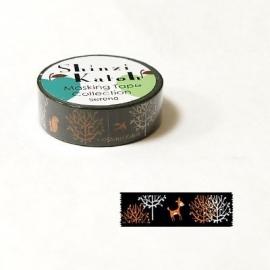 Masking tape Murmur Forrest - Shinzi Katoh * MKT5078