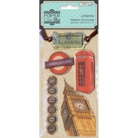 London Paper bliss 3d stickers - TPC Studio * 49988