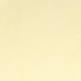 100% acryl vilt  - zachtgeel ecru 041 * 20x30 cm.