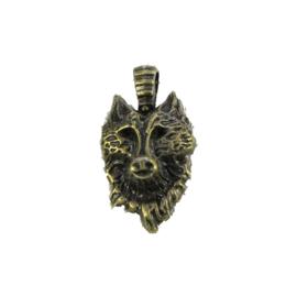 Bedel wolf brons