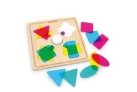 Kleuren en vormenpuzzel - Magic * 8530