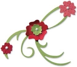 Bigz die flowers and vines 3 - Sizzix * 656083