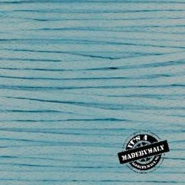 1 mm Waxkoord lichtblauw