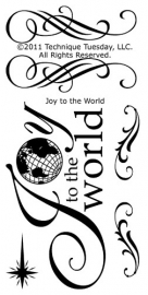 Joy to the world - Technique Tuesday * TT599