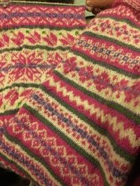 De Wieke van Keulen sjaal, gemaakt door Conny Willems