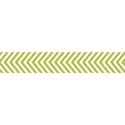 Paper tape pickle juice chevron - Bella Boulevard * 487