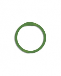 Sleutelhanger, Bindring green (per stuk) - Creative Imaginations * CI 21061