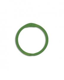 Sleutelhanger, Bindring green (per stuk) - Creative Imaginations * CI 21061