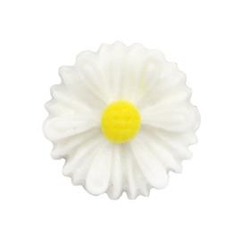 Madelief bloem kraal 13 mm