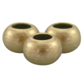DQ kraal 4x5 mm antiek brons