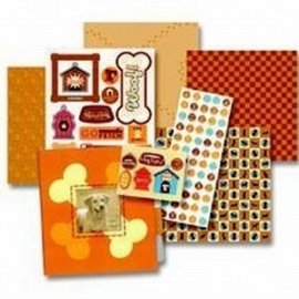 Mini book kit pets ´dogs´ - K&Company * 117001/8546
