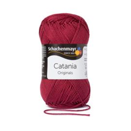 Catania katoen burgund * 425