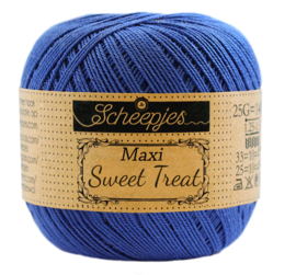 201 Electric blue - Maxi Sweet Treat 25 gram - Scheepjes