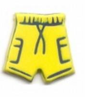 Brad zwembroek geel