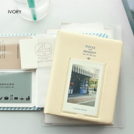 Creme Iconic instax mini polaroid album