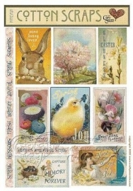Cotton scraps spring - Crafty Secrets * HCS06