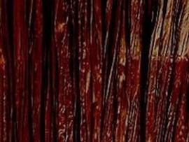 Raffia donkerbruin