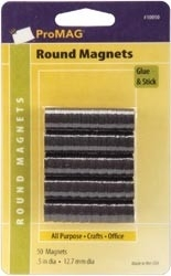 50 Magneten 12,7 mm. - Promag * Mag13