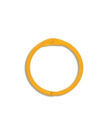 Sleutelhanger, Bindring orange (per stuk) - Creative Imaginations * CI 21039