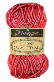 Red Jasper 847 - Stone Washed XL * Scheepjes