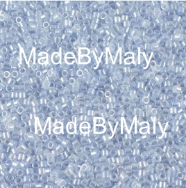 Miyuki Delica's 11/0 sky blue ceylon DB0257