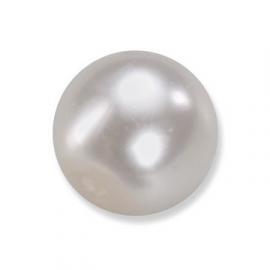 parel-kralen wit 8 mm.  * 6067000