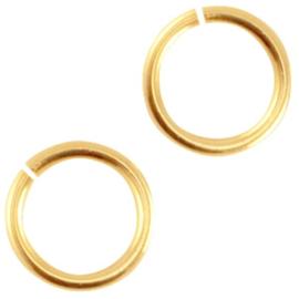 DQ buigring 5,5 mm goud (nikkelvrij)