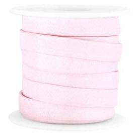 10mm plat jean jean koord licht roze