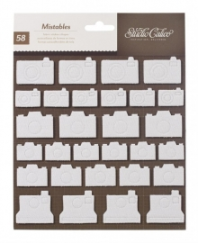 Heyday mistable thickers shape stickers Camera`s - Studio Calico * 244149