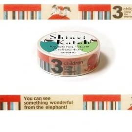 Masking tape 3 Children - Shinzi Katoh * MKT5080