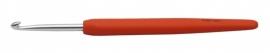 Knitpro softgrip waves haaknaald 4 oranje