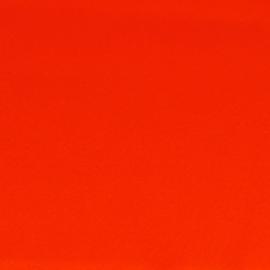 100% acryl vilt  - middenrood 023 * 20x30 cm.