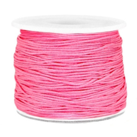 Draad macramé 0.7mm magenta roze , 5 meter