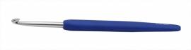 Knitpro softgrip waves haaknaald 4,5 donkerblauw
