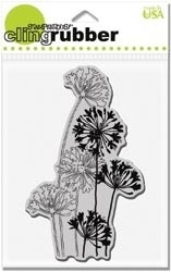 Agapanthus Cluster cling rubber mounted stempel - Stampendous * crp107