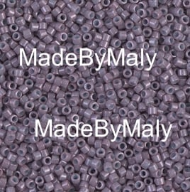 Miyuki Delica's 11/0 dyed op mulberry DB0662